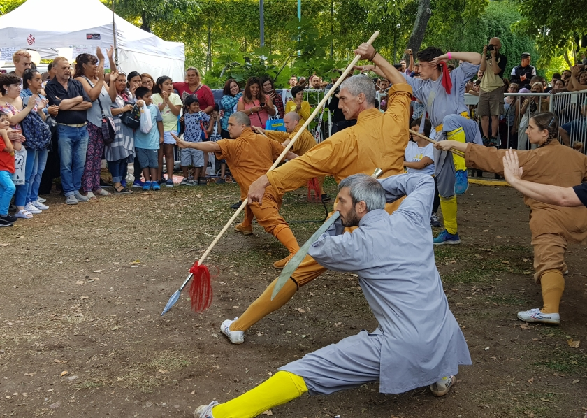 Buenos Aires Kung Fu demonstration