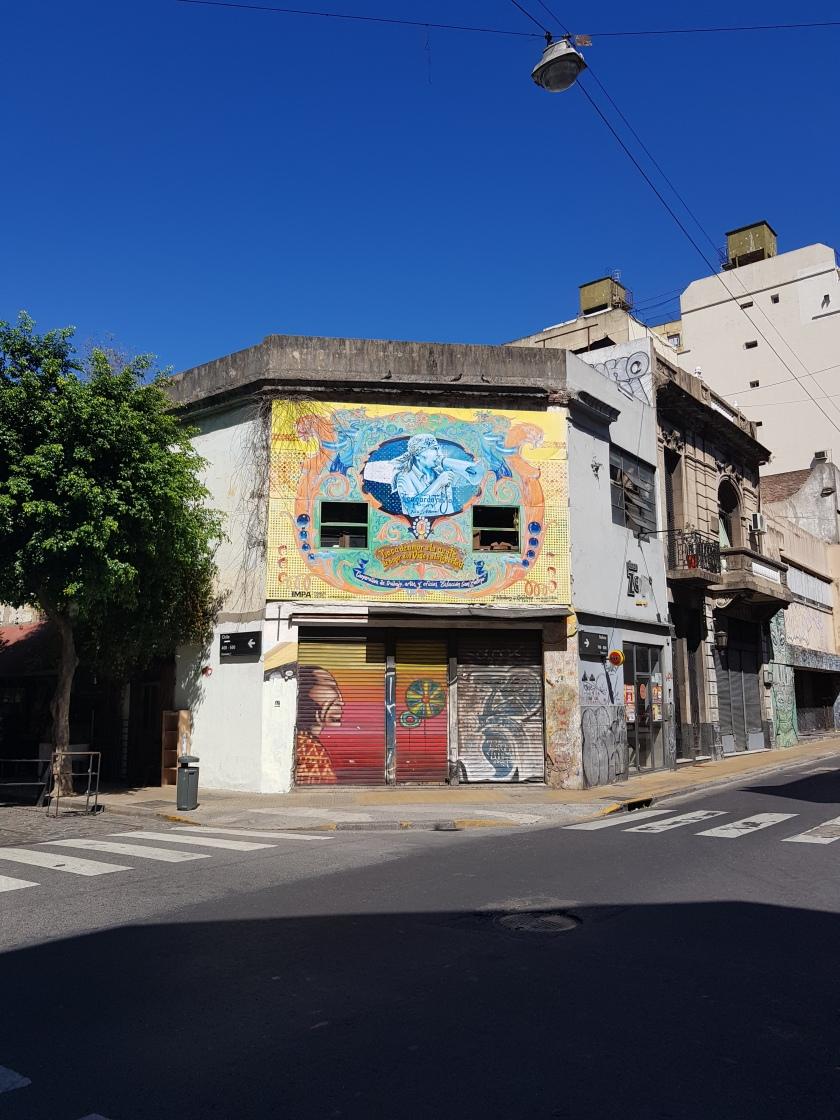Graffiti San Telmo Argentina